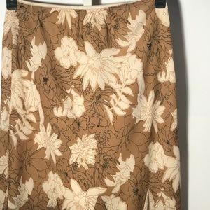 Biege and Cream Skirt